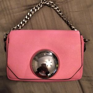 Zara light pink mini purse - LIKE NEW!